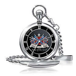 Pride Of The South Civil War Commemorative Pocket Watch