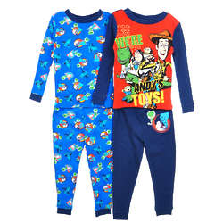 "Toy Story ""Andy's Toys"" Mix & Match 4-Piece Pajama Set"