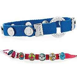 Blue Mogo Charmband