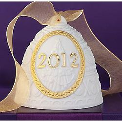 Lladro 2012 Annual Re-Deco Bell Ornament