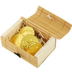 Eco-Friendly Mini Bamboo Treasure Favor Box
