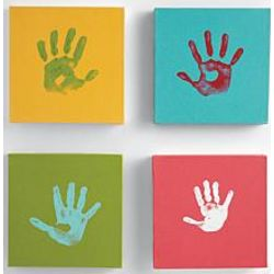 Handprint Wall Decoration Kit