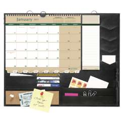 Message Center with Monday-Start Desk Calendar