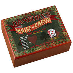 Personalized House of Cards Humidor