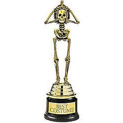 Best Costume Skeleton Trophy