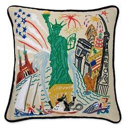 Lady Liberty Pillow