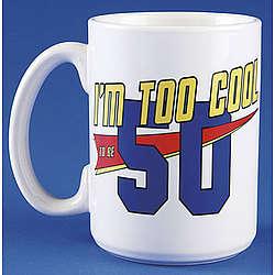 Personalized Age Themed Birthday Mug