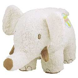 Organic Cotton and Canvas Elephant Plush
