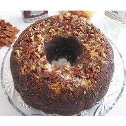 German Chocolate Cake with Caramel Vodka Glaze