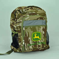 John Deere Green Camo Backpack