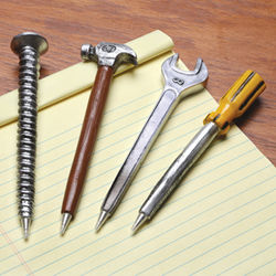 Tool Shaped Pen Set