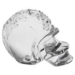 Crystal Football Helmet Paperweight