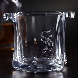 Just Chilled Personalized Mini Glass Ice Bucket