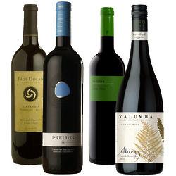 Organic Wine Quartet