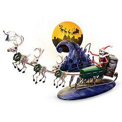 Tim Burton's Nightmare Before Christmas Sled Figurine