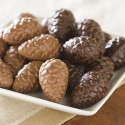 Dark and Milk Chocolate Pinecones Gift Tin