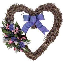 Purple Heart Indoor Wreath