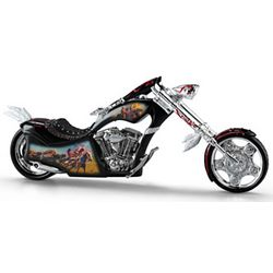Mystic Cruiser Motorcycle Figurine