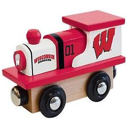 Wisconsin Badgers Toy Wood Train