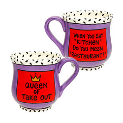 Queen of Take Out Mug