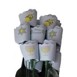 Chanukah Paper Roses