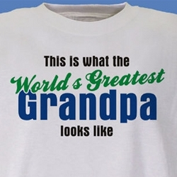 Personalized World's Greatest T-Shirt