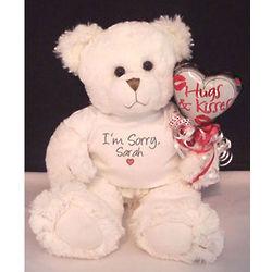 Custom I'm Sorry Teddy Bear
