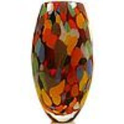 Carnival Colors Murano Handblown Vase