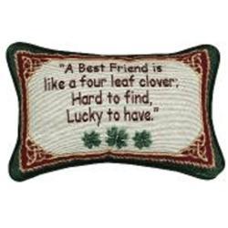 Irish Treasures Best Friend Pillow