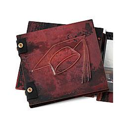 Graduation Handmade Copper Photo Album