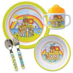 Noah's Ark Children's Mealtime Set
