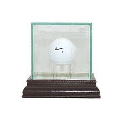 Engraved Golf Ball Display Case