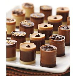 Belgian Tiered Truffles