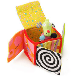 Peek O Fabric Activity Box