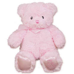 Personalized My First Pink Teddy Bear
