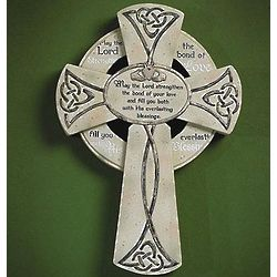 Irish Wedding Wall Cross