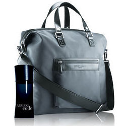 Armani Code Men Duffle Bag Set