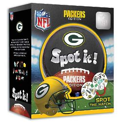 Packers Spot It! Card Game