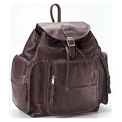 X-Large Himalayan Leather Backpack