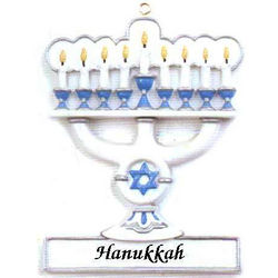 Menorah Chanukah Ornament