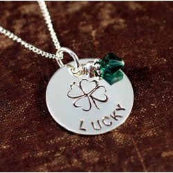 Lucky To Be Irish Necklace