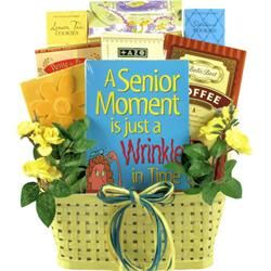 Those Senior Moments Birthday Basket