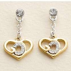 Personalized God's Heart Earrings