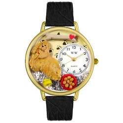 Cocker Spaniel Personalized Watch