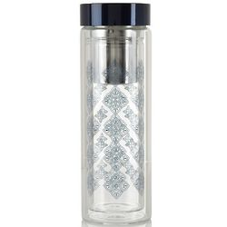 Tamira Glass Travel Tea Tumbler