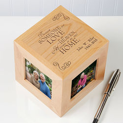 Someone We Love Personalized Memorial Photo Cube
