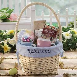 Personalized Hostess Bay Blue Liner Easter Basket