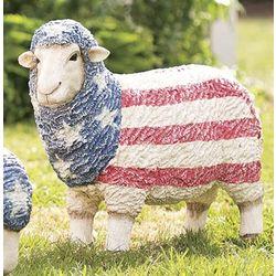 Americana Standing Sheep Statue