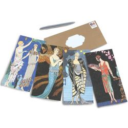 1920s Fashion Note Cards