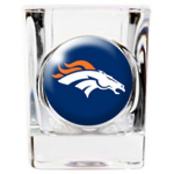 Personalized Denver Broncos Shot Glass
